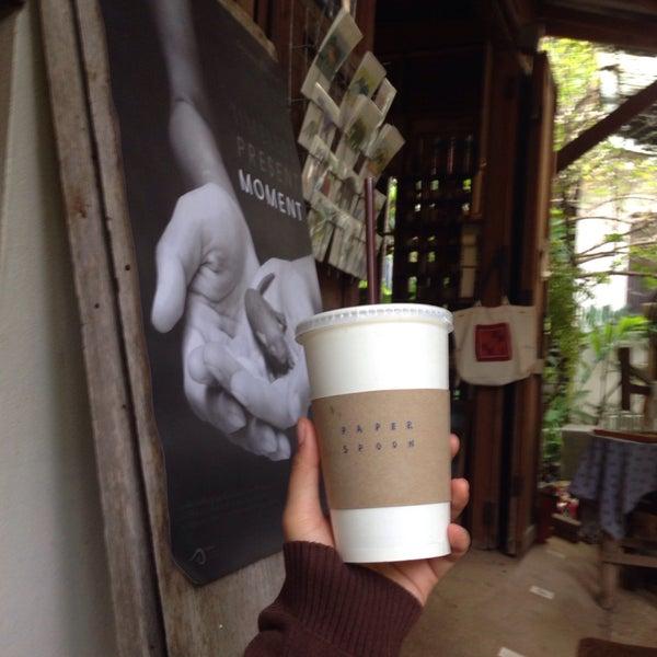 9/22/2016にดญมะม่วง ม.がPAPER SPooNで撮った写真