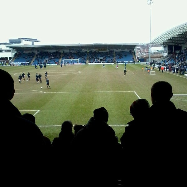 Photo taken at The Proact Stadium by Fiona A. on 4/1/2013