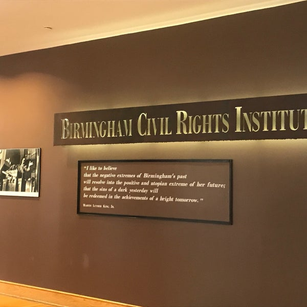 Photo taken at Birmingham Civil Rights Institute by Clau V. on 6/30/2017