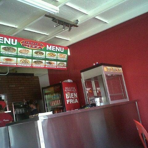 Jhon 39 s pizza jardin dorado blvd h ctor ter n ter n for Pizza jardin precios