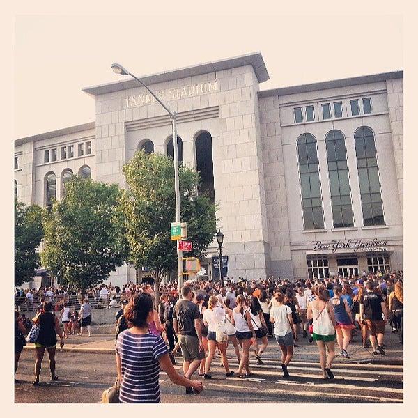 Photo taken at Yankee Stadium by Karla V. on 7/19/2013