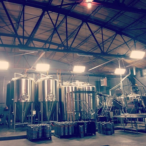 Photo taken at Good People Brewing Company by Landon H. on 10/3/2012