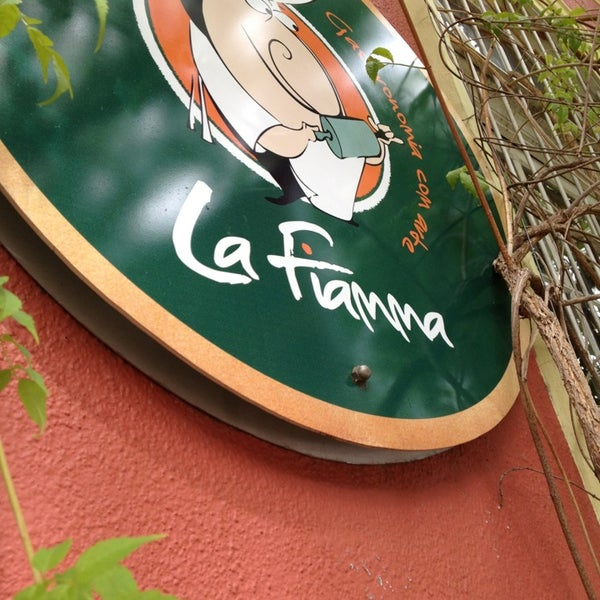 Photo taken at La Fiamma by Gustavo A. on 4/3/2013
