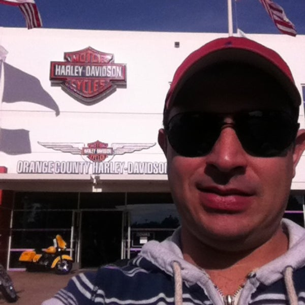 Photo taken at Orange County Harley-Davidson by Fernando F. on 1/13/2013