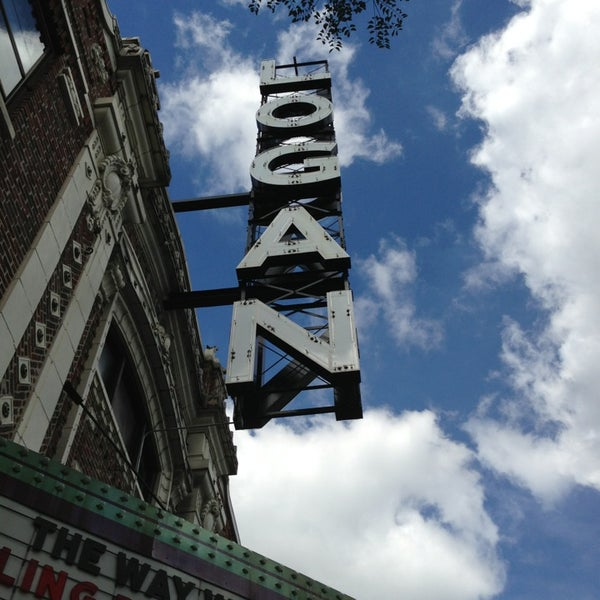 Photo taken at Logan Theatre by Beth R. on 7/29/2013