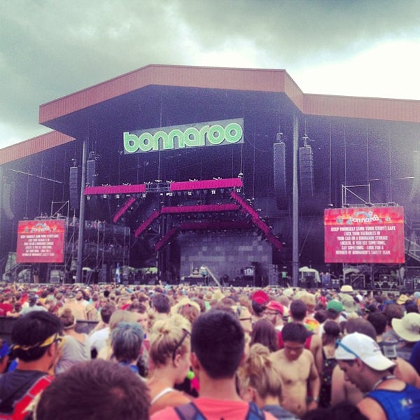 Photo taken at What Stage at Bonnaroo Music & Arts Festival by Matthew P. on 6/16/2013