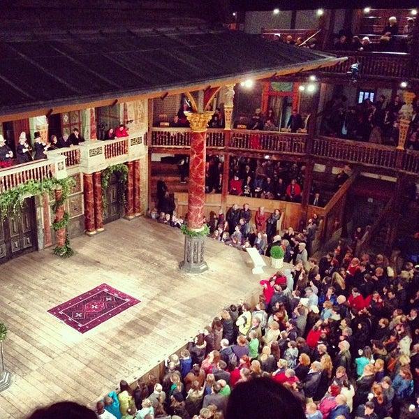 Photo taken at Shakespeare's Globe Theatre by Katherine S. on 9/24/2013