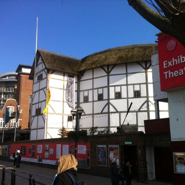 Photo taken at Shakespeare's Globe Theatre by Iulia H. on 4/1/2013