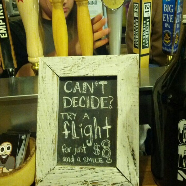 Photo taken at Good Beer NYC by Ryan W. on 1/27/2013