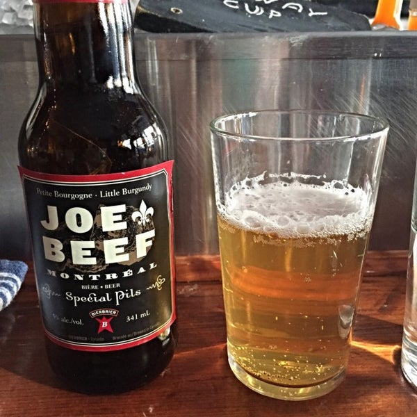 Photo taken at Joe Beef by Amy M. on 5/21/2015