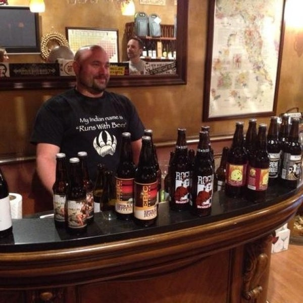 Photo taken at Ashburn Wine Shop by Brian D. on 8/1/2013