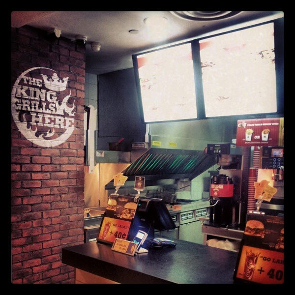 burger king fast food restaurant in singapore. Black Bedroom Furniture Sets. Home Design Ideas