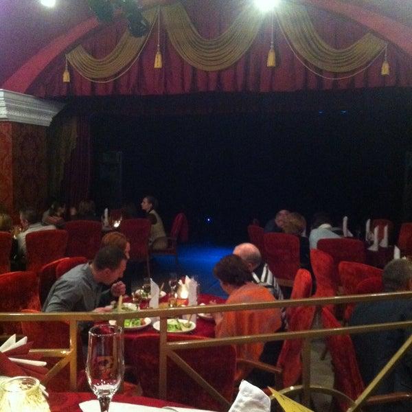 Снимок сделан в Театр-кабаре на Коломенской/ The Private Theatre and Cabaret пользователем Юлия Б. 2/14/2015
