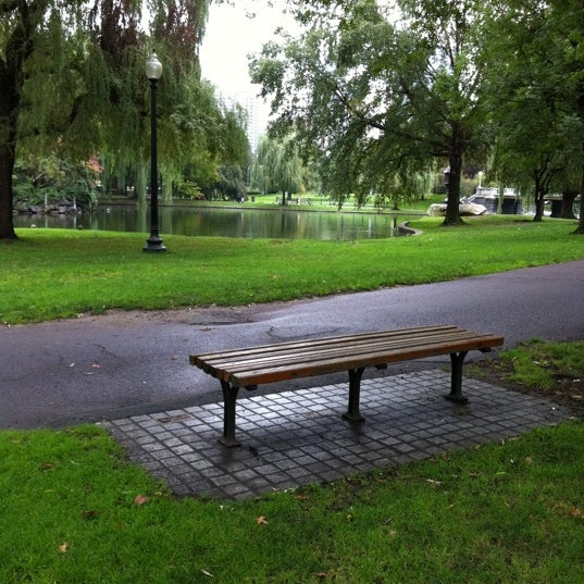 Good Will Hunting Bench - General Entertainment in Beacon Hill