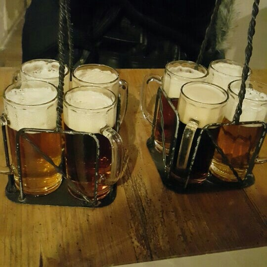 Photo taken at Czech Beer Museum Prague by Darya S. on 12/25/2015