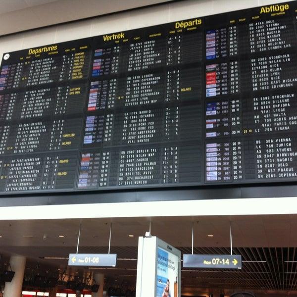 Снимок сделан в Брюссельский аэропорт (BRU) пользователем Anna V. 7/14/2013