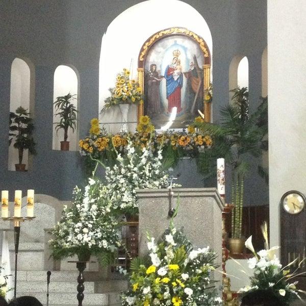 Photo taken at Iglesia Nuestra Señora De La Chiquinquira by Jose T. on 5/18/2013
