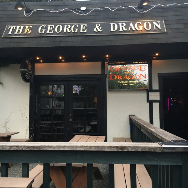Photo taken at George & Dragon Pub by Weird Beer G. on 8/27/2016