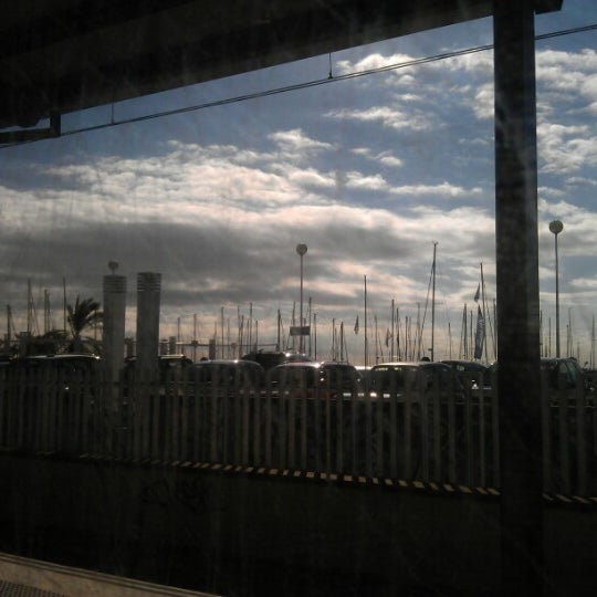 Photo taken at RENFE El Masnou by Damiano B. on 10/15/2012