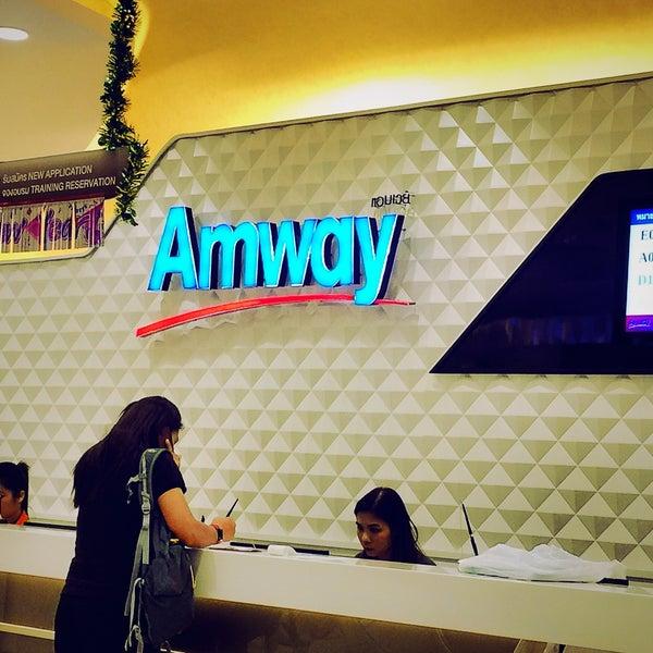 Photo taken at Amway by ka-nOm-taRn t. on 12/16/2015