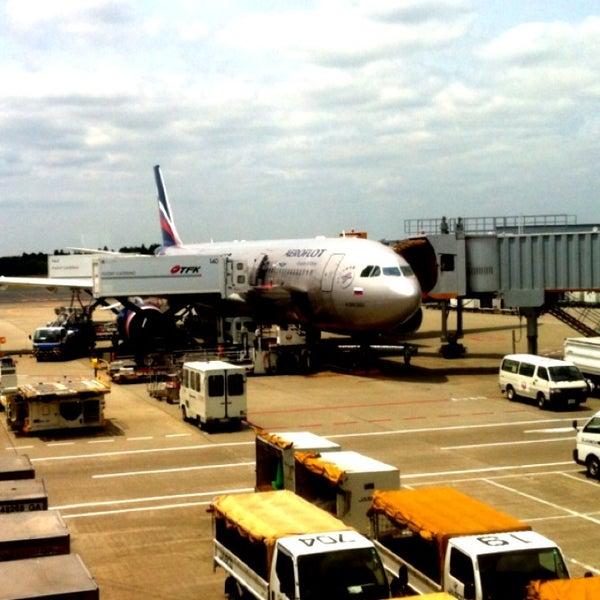 Photo taken at Narita International Airport (NRT) by Dmitry S. on 5/27/2013