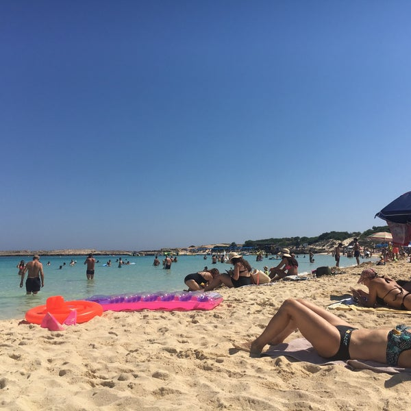 Photo taken at Makronissos Beach by Natali К. on 6/26/2017