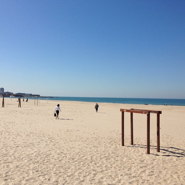 Photo taken at Praia do Titan by Alex B. on 5/2/2013
