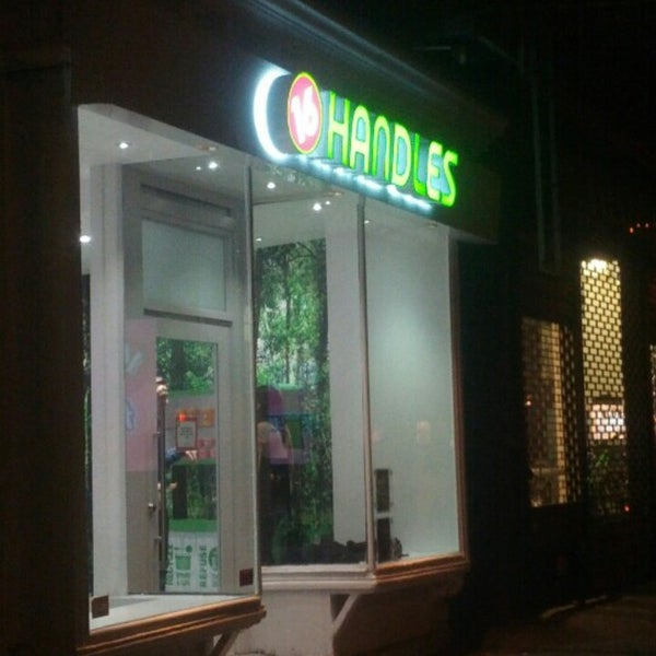 Photo taken at 16 Handles by Adam P. on 12/13/2012