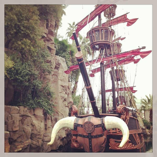 Photo taken at Treasure Island - TI Hotel & Casino by Brooklyn🐾 on 1/25/2013