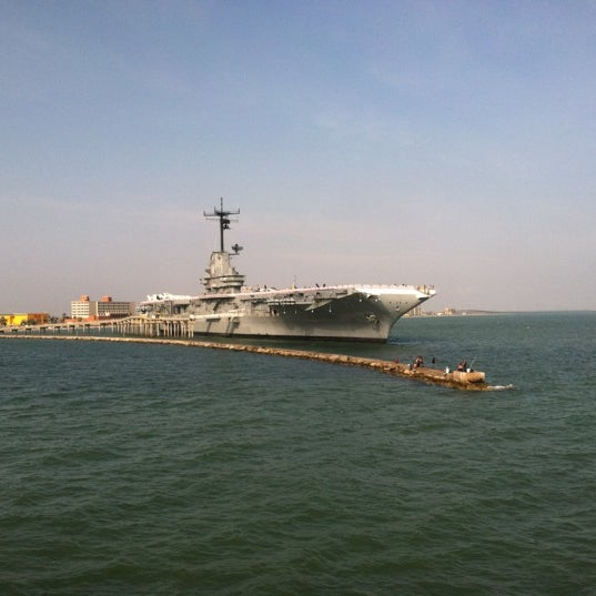 Photo taken at USS Lexington Museum On The Bay by Winston S. on 12/8/2012