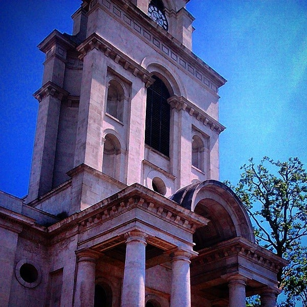 Photo taken at Christ Church by James S. on 7/7/2014