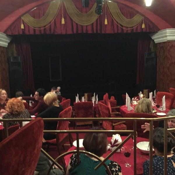 Снимок сделан в Театр-кабаре на Коломенской/ The Private Theatre and Cabaret пользователем Daniil B. 11/6/2016