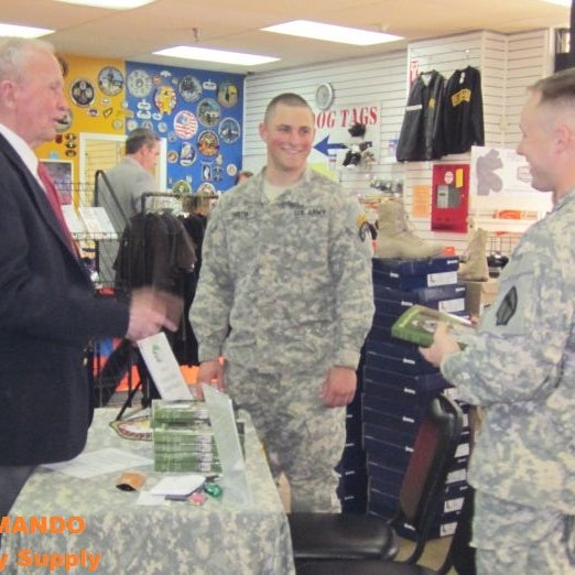 Photo taken at Commando Military Supply by Commando Military Supply on 7/19/2013