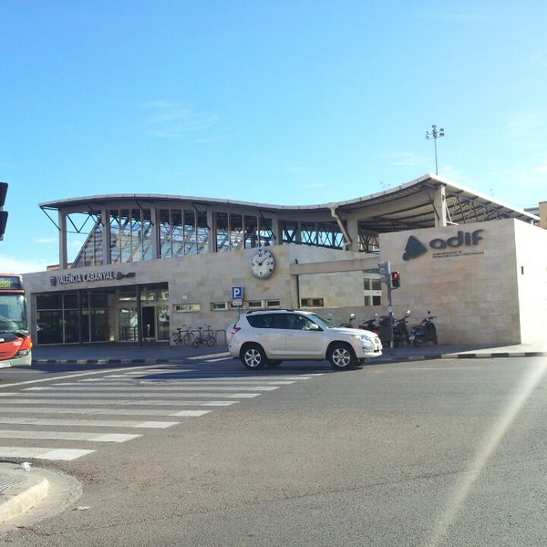 Photo taken at Estació de Tren - València-Cabanyal by Sergio G. on 10/1/2013
