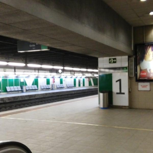 Photo taken at Estació de Tren - València-Cabanyal by Sergio G. on 7/29/2016