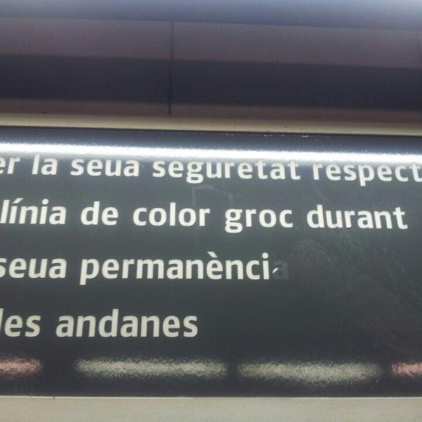 Photo taken at Estació de Tren - València-Cabanyal by Sergio G. on 11/16/2013