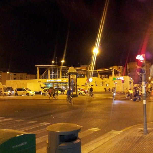 Photo taken at Estació de Tren - València-Cabanyal by Sergio G. on 11/5/2013