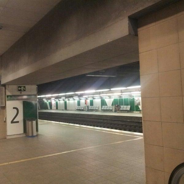 Photo taken at Estació de Tren - València-Cabanyal by Sergio G. on 9/3/2013