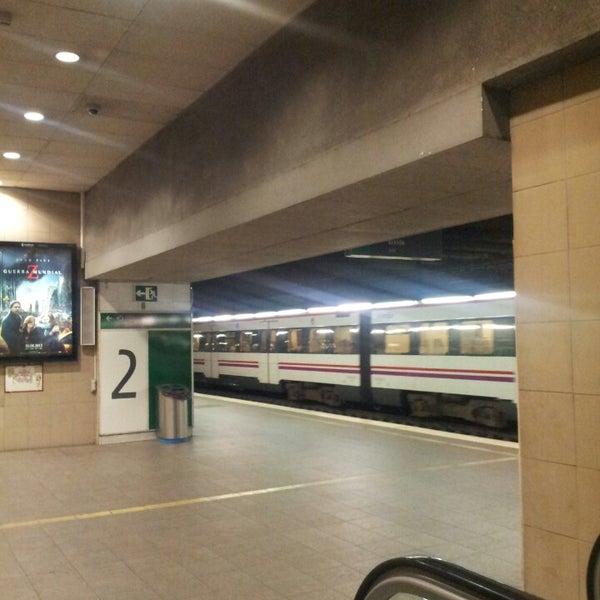 Photo taken at Estació de Tren - València-Cabanyal by Sergio G. on 9/24/2013
