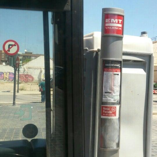 Photo taken at Estació de Tren - València-Cabanyal by Sergio G. on 5/20/2016