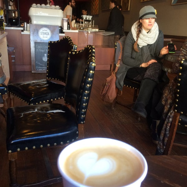 Photo taken at Stanza Coffee Bar by Rina on 12/30/2014
