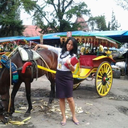 Photo taken at Pasar kaget berastagi by leni f. on 11/22/2012