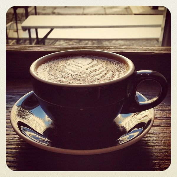 Снимок сделан в Bonanza Coffee пользователем Markus Y. 10/13/2012