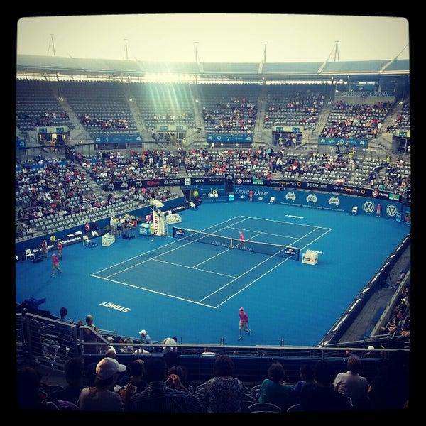 Photo Taken At Sydney Olympic Park Tennis Centre By Tony V On 1 10