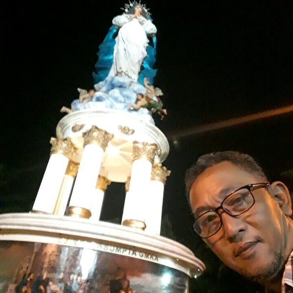 Photo taken at Gua Maria Kerep by bima d. on 7/2/2017
