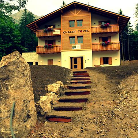 Concept: Mountain Lake Hotel on Lake Tovel, in Val di Non
