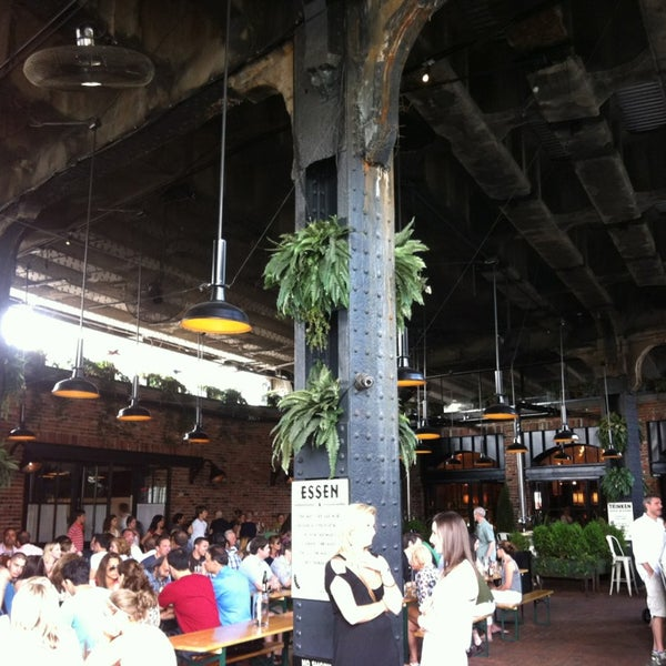 Photo taken at The Biergarten at The Standard by Cesar A. on 6/16/2013