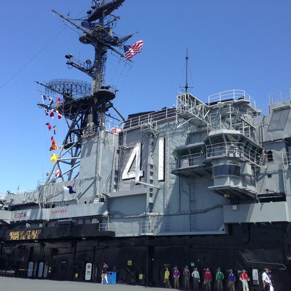 Photo taken at USS Midway Museum by Tim B. on 7/28/2013