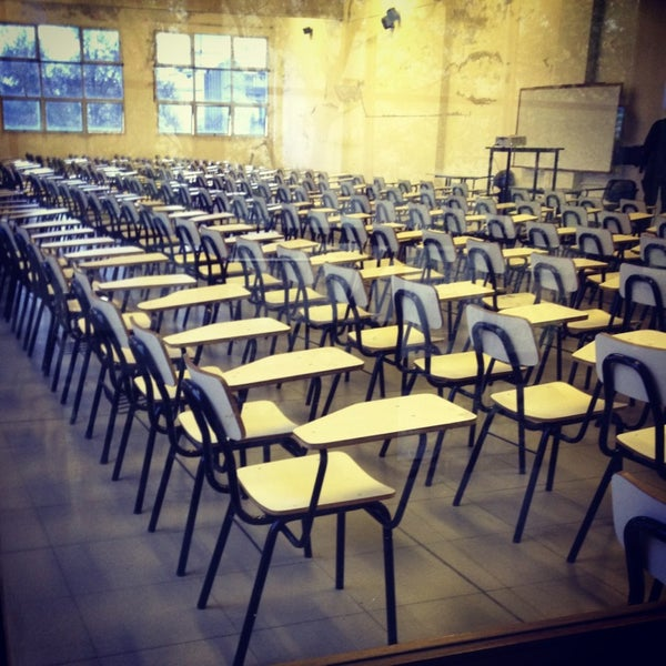 Foto tomada en Facultad de Psicología - Udelar por Cecilia E. el 10/14/2013