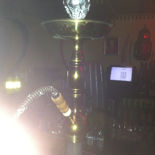 Photo taken at Off The Hookah by Rob on 11/22/2012